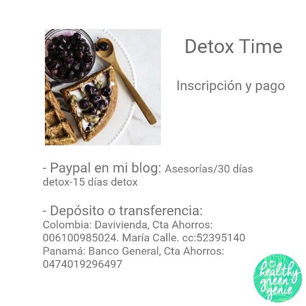 Detox time 2018